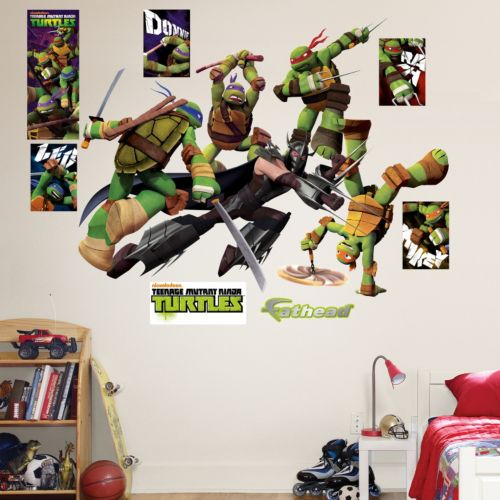 Fathead Teenage Mutant Ninja Turtles Shredder Battle Wall Decals