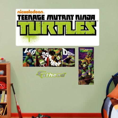 Fathead Teenage Mutant Ninja Turtles Logo Wall Decals