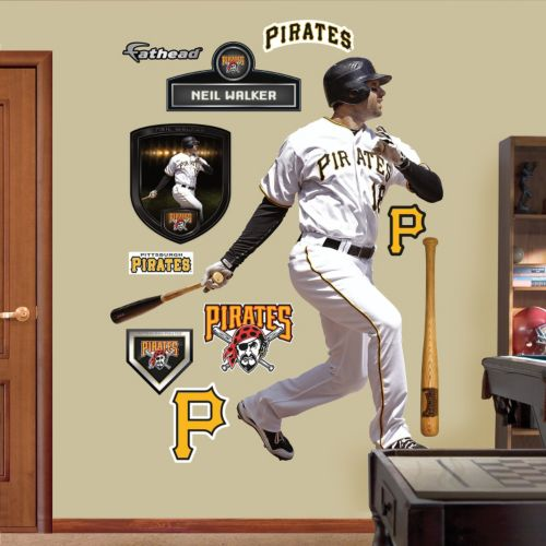 Fathead Pittsburgh Pirates Neil Walker Wall Decals