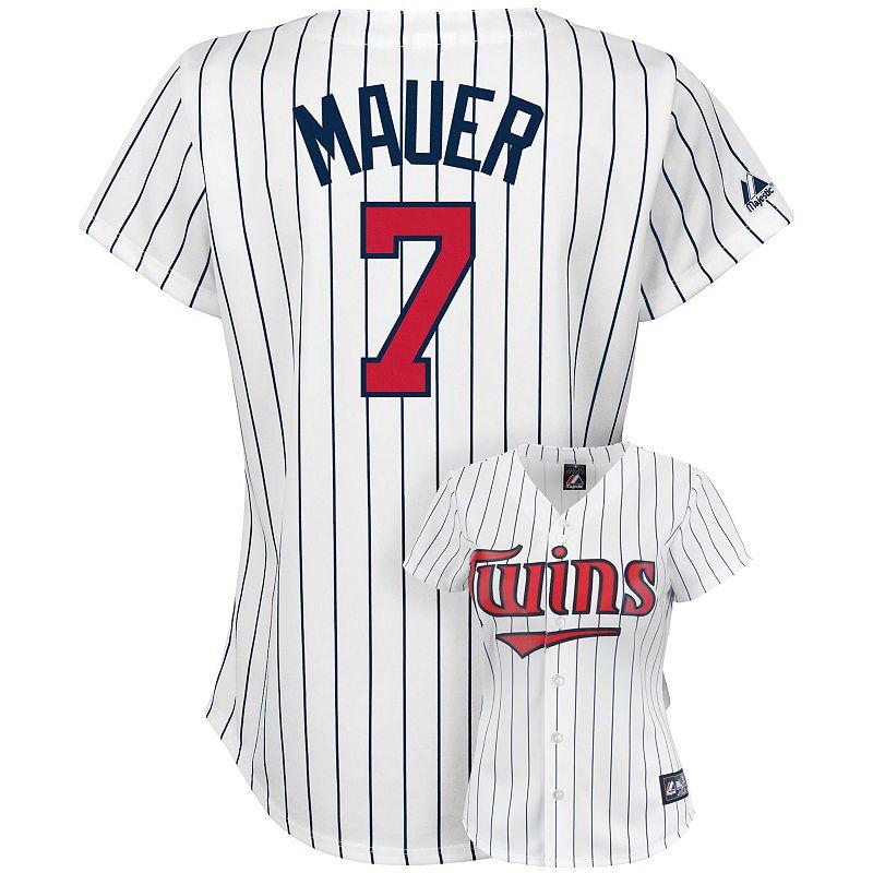 Girls 7-16 Majestic Minnesota Twins Joe Mauer Jersey