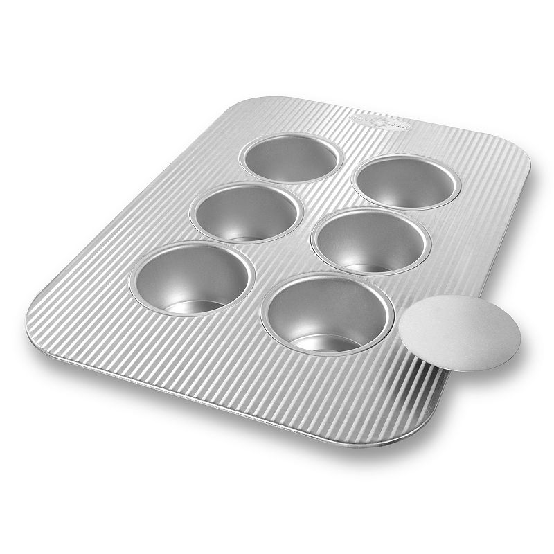USA Pan 6-Cup Nonstick Mini Cheesecake Pan