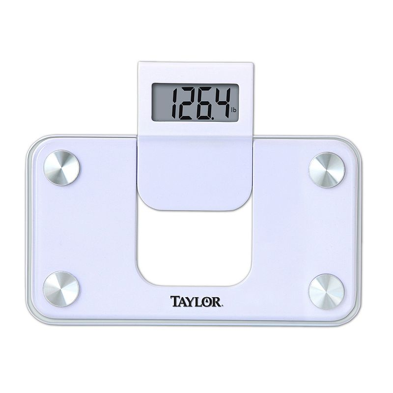 Taylor Glass Digital Mini Bathroom Scale