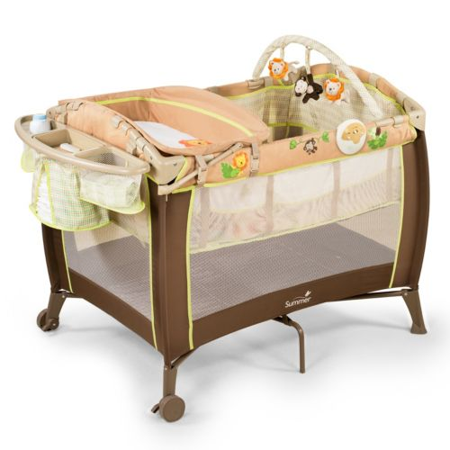 Summer Infant Swingin' Safari Play Yard with Changer