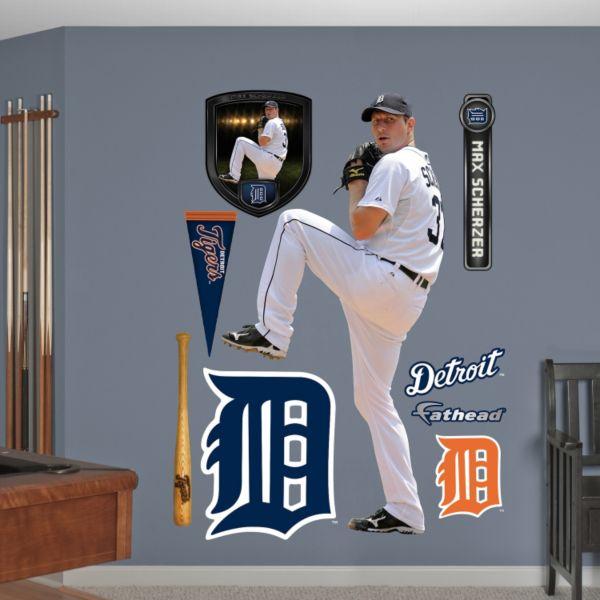 Fathead Detroit Tigers Max Scherzer Wall Decals