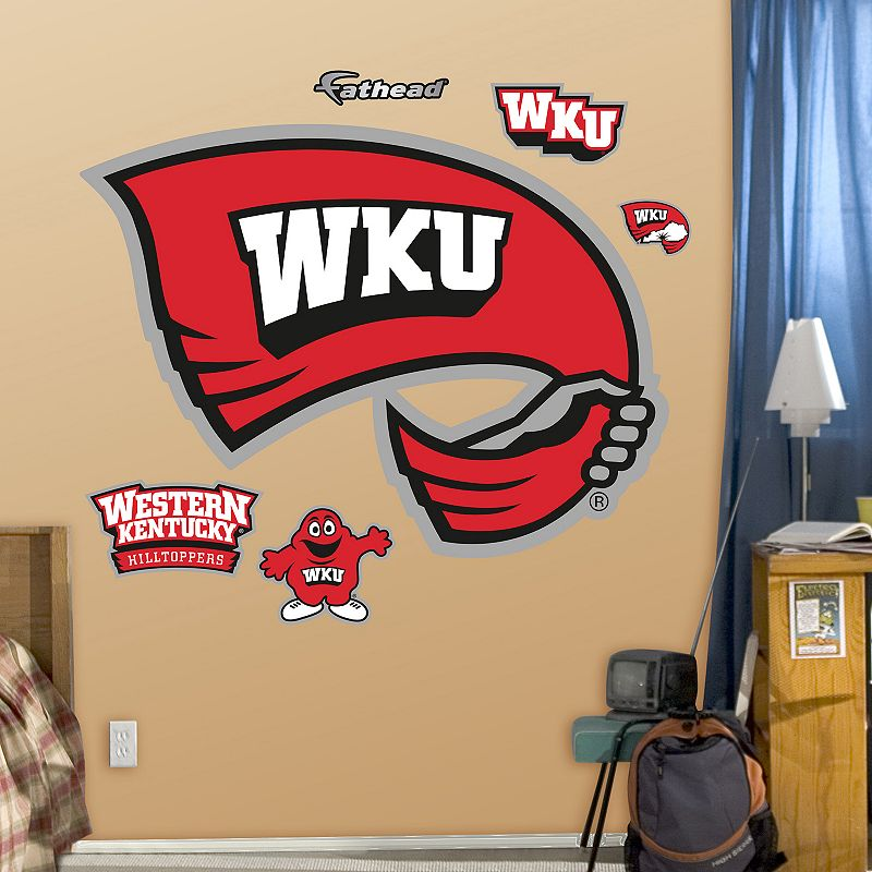 Fathead Western Kentucky Hilltoppers Logo Wall Decals