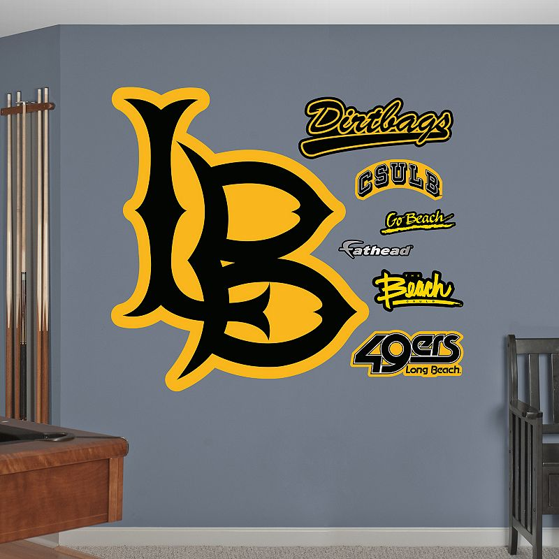 Fathead Long Beach State 49ers Wall Decals