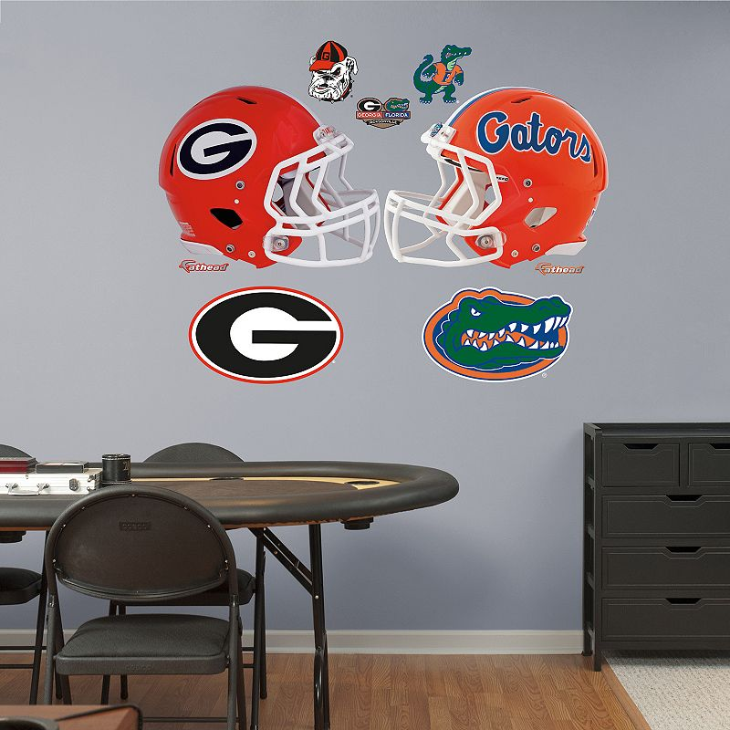 Fathead Georgia Bulldogs and Florida Gators Wall Decals