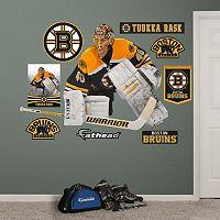 Fathead Boston Bruins Tuukka Rask Wall Decals