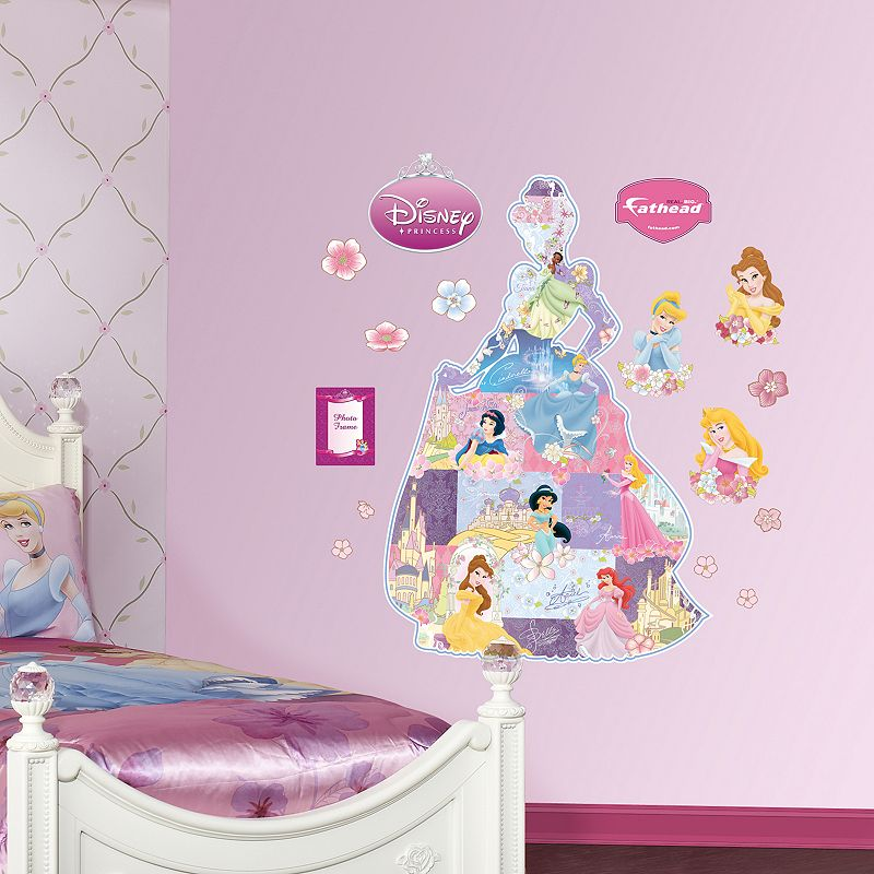 Disney Princess Silhouette Wall Decals by Fathead