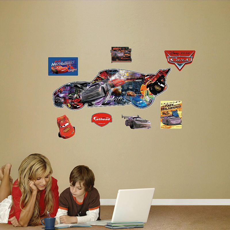Disney pixar cars wall decals by fathead for Disney pixar cars wall mural