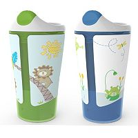 BornFree 2-pk. Grow with Me Sippy Cups