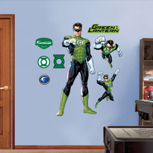Green Lantern Wall Decals by Fathead