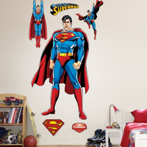 Superman Wall Decals by Fathead
