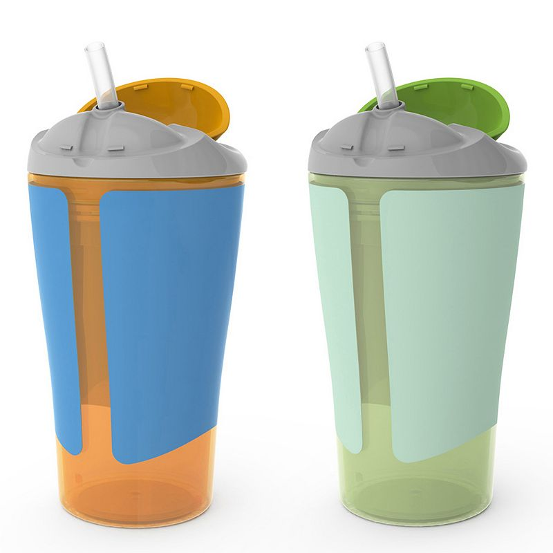 BornFree 2-pk. 10-ounce Grow with Me Straw Cups