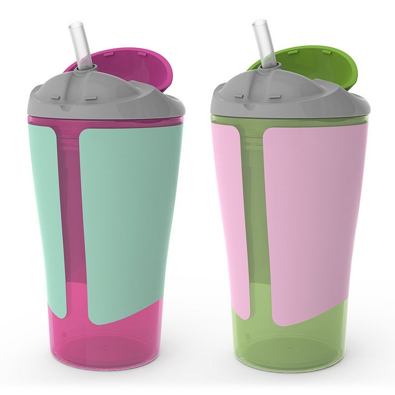 BornFree 2-pk. 10-ounce Grow with Me Straw Cups