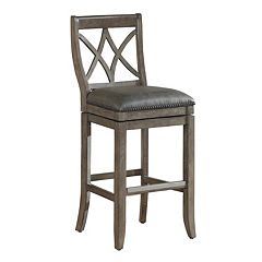 Click here to buy American Heritage Billiards Hadley Swivel Counter Stool.