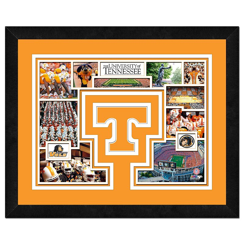 Tennessee Volunteers Framed Milestones and Memories 11'' x 14'' Wall Art