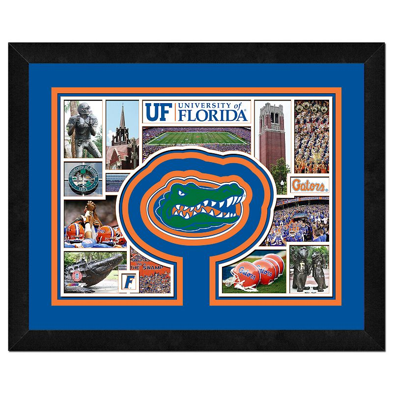 Florida Gators Framed Milestones and Memories 11
