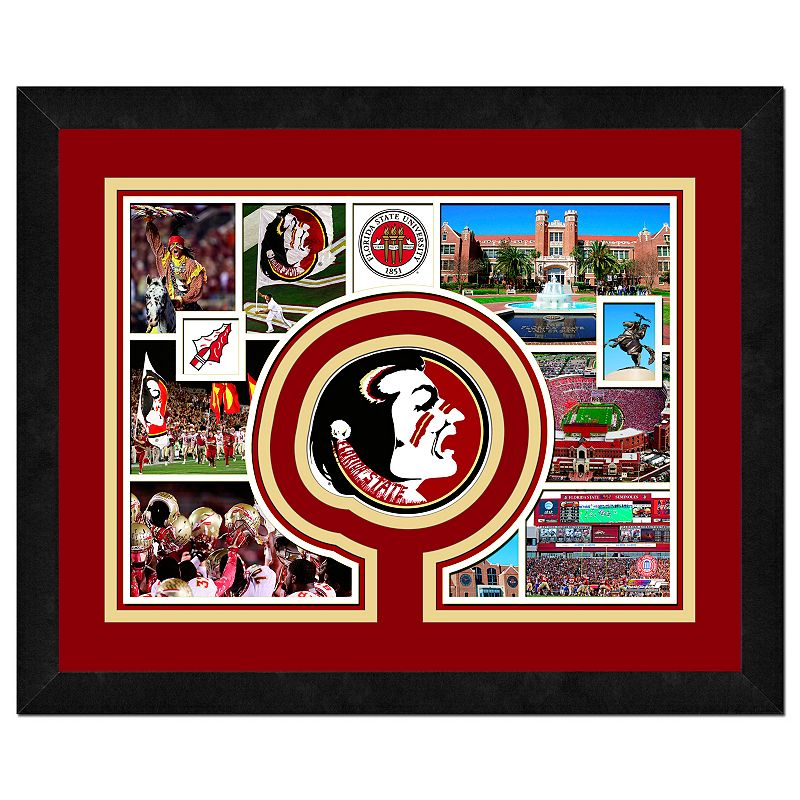 Florida State Seminoles Framed Milestones and Memories 11