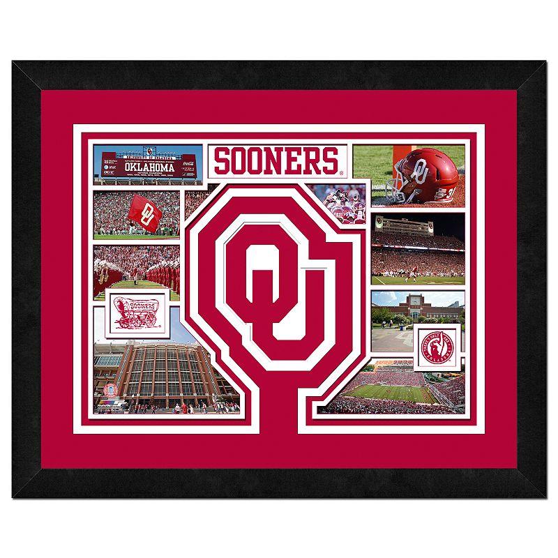 Oklahoma Sooners Framed Milestones and Memories 11'' x 14'' Wall Art