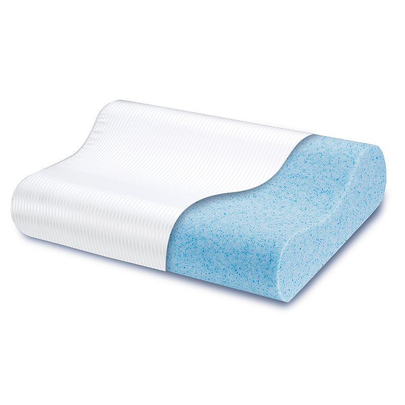 ComforPedic Beautyrest Gel Memory Foam Contour Pillow