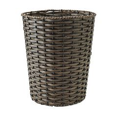 Home Classics Woven Wastebasket by