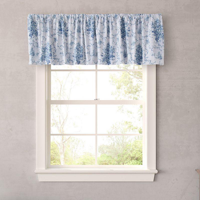 Blue Floral Print Window Treatment Kohl S
