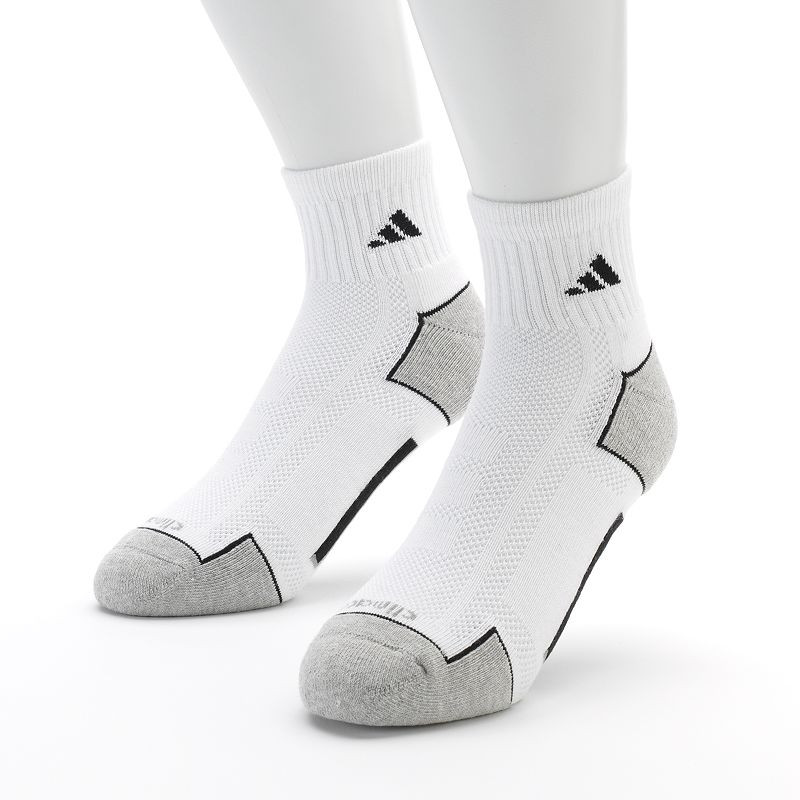 Men's adidas 2-pk. Climacool Quarter Performance Socks