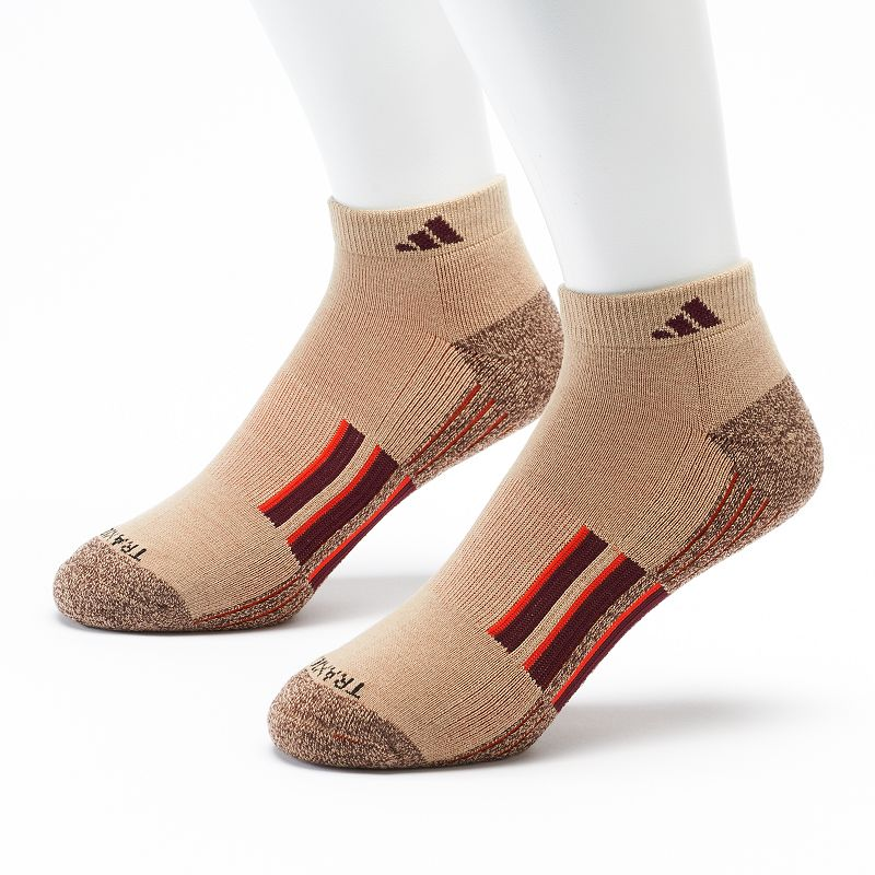 Men's adidas 2-pk. Climalite Quarter Performance Socks