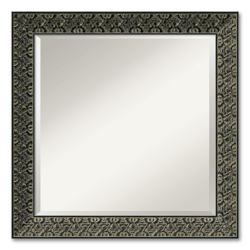 Intaglio Beveled Wall Mirror - Square