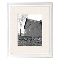 Barnside 11'' x 14'' Matted Wall Frame