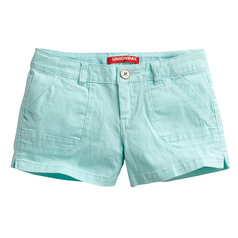 Girls 7-16 Unionbay Solid Shorts