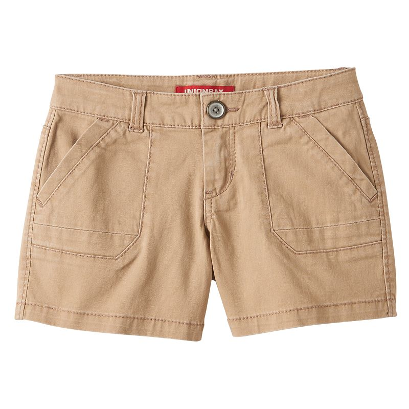 Girls 7-16 Unionbay Solid Shorts