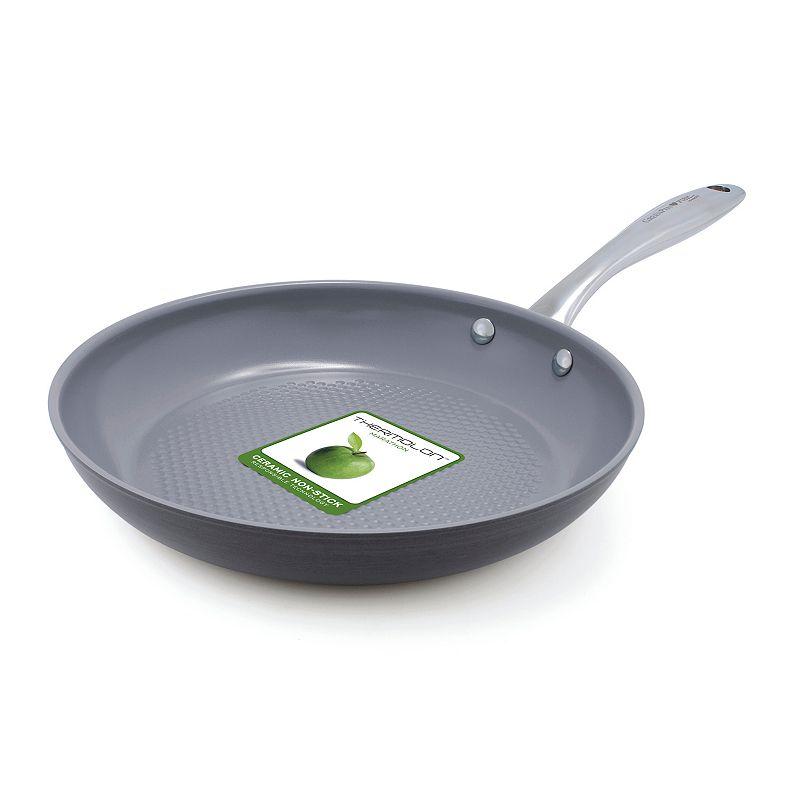 GreenPan I Love Fish and Vegetables 10-in. Nonstick Ceramic Frypan