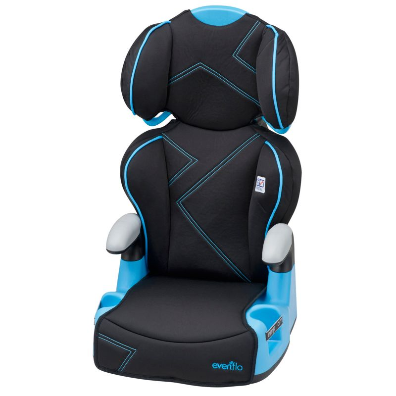 Evenflo AMP High-Back Booster Car Seat, Multicolor