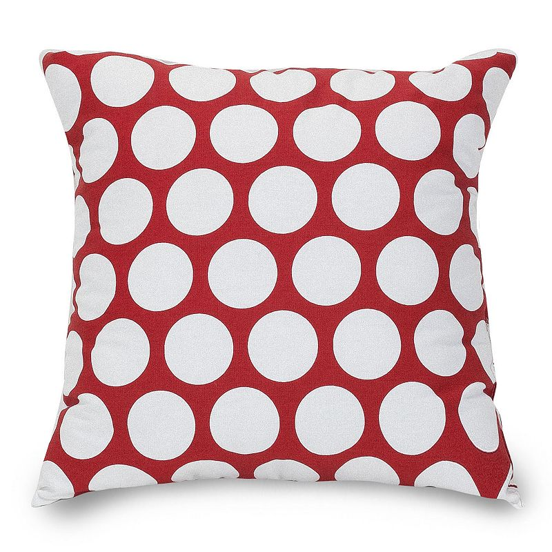 Homegoods Decorative Pillows : MAJESTIC HOME GOODS POLKA-DOT LARGE THROW PILLOW
