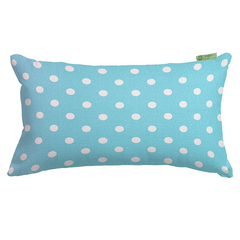 Majestic Home Goods Polka Dot Small Throw Pillow
