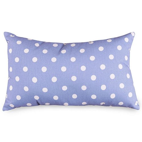 Majestic Home Goods Polka Dot Small Decorative Pillow