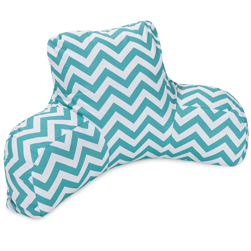 Majestic Home Goods Chevron Indoor Outdoor Backrest Pillow