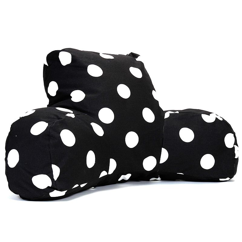 Majestic Home Goods Polka-Dot Reading Pillow