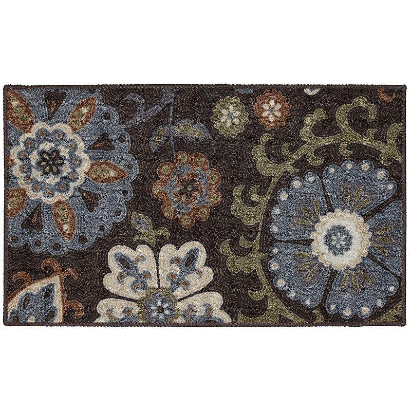 Edenton Folk Floral Rug - 20'' x 34''