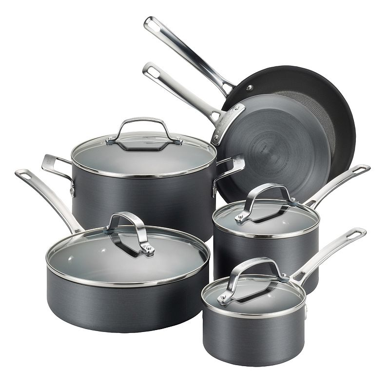 Circulon Genesis 10-pc. Nonstick Hard-Anodized Cookware Set