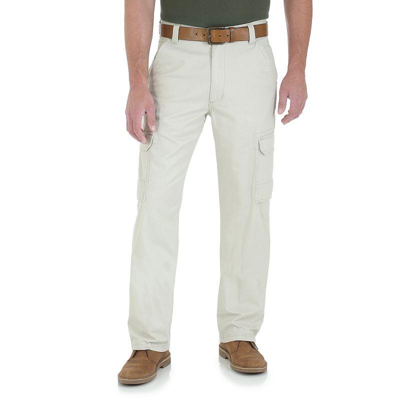 Men's Wrangler Twill Cargo Pants