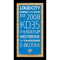 Steiner Sports Oklahoma City Thunder 19