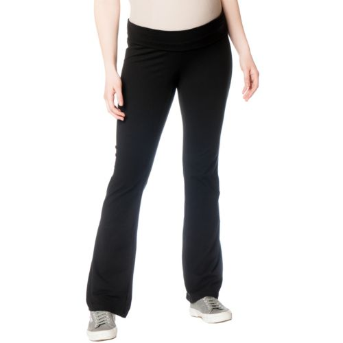 Oh Baby by Motherhood™ Fold-Over Belly Yoga Pants - Maternity