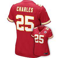 Women's Nike Kansas City Chiefs Jamaal Charles Jersey