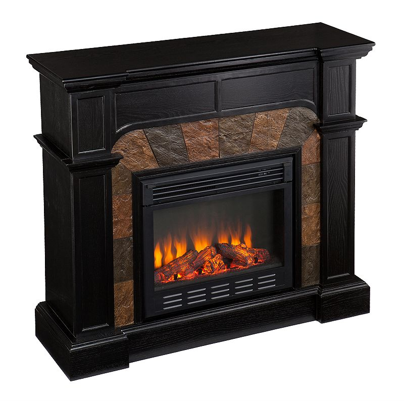 Black Corner Electric Fireplace Electric Fireplace Reviews