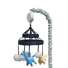 Petit Tresor Happy Animals Musical Mobile by