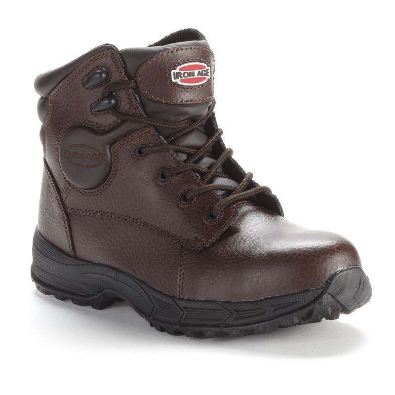 IIron Age Men's Steel-Toe Work Boots