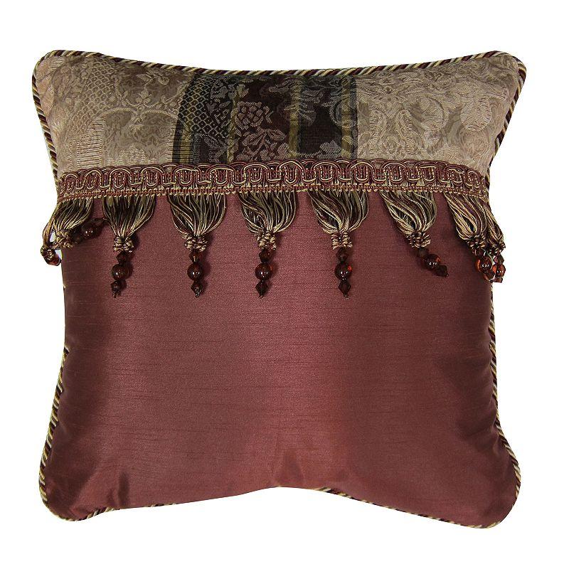 Chapel Hill by Croscill Marquis Square Decorative Pillow